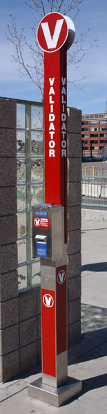 ticket validator machine