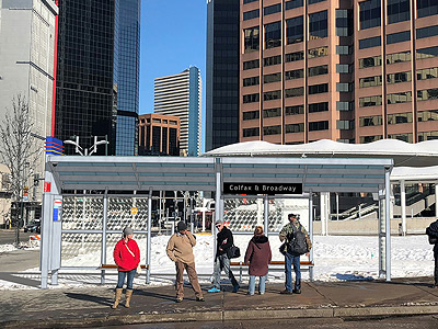 15L bus shelter rendering Broadway