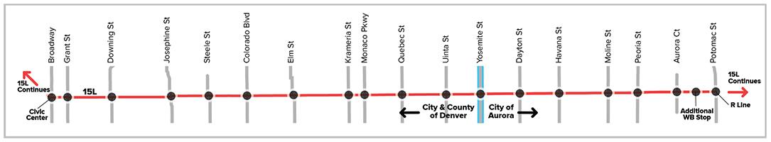 East Colfax Transit Improvements Rtd Denver