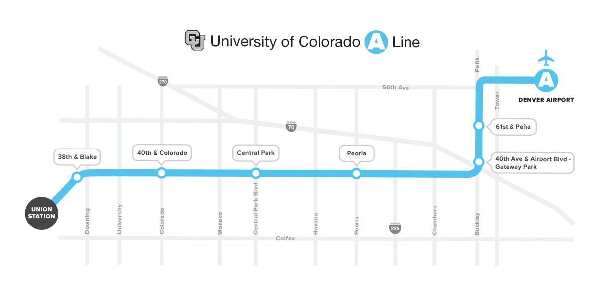 University of Colorado A Line | RTD - Denver