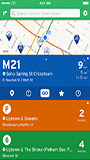 transit app screenshot one