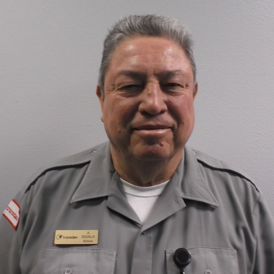 Arturo Sigala, October 2019 RTD Operator of the Month