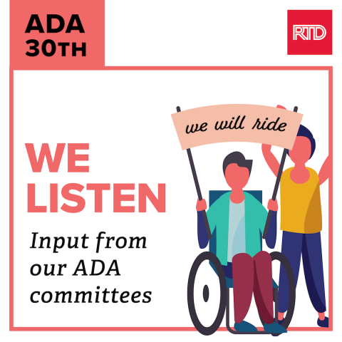 We Listen: Input from our ADA committees