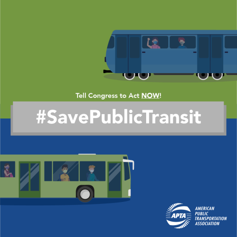 Tell Congress to act and #SavePublicTransit