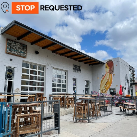 Image of a tap house in the RiNo district in Denver